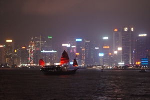 Hong Kong skyline from Victoria Harbour